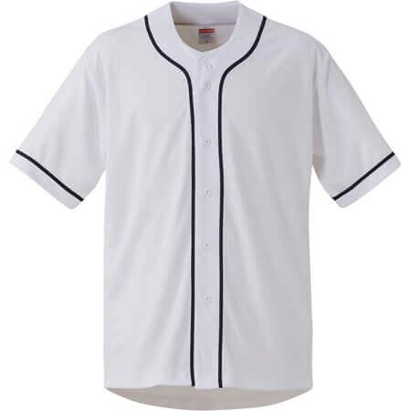 [1445] 4.4オンス ドライ ベースボールシャツ【ユナイテッドアスレ】