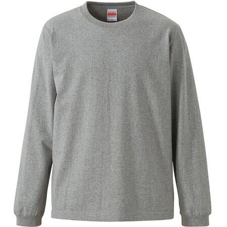 [4262] オーセンティックスーパーヘヴィーウェイト 7.1オンス ロングスリーブ Tシャツ(1.6インチリブ)【ユナイテッドアスレ】