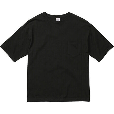 [5008] 5.6オンス ビッグシルエット Tシャツ(ポケット付)【ユナイテッドアスレ】
