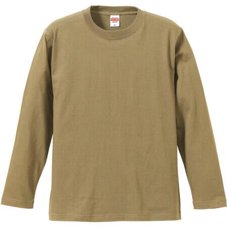 [5010] 5.6オンス ロングスリーブ Tシャツ【ユナイテッドアスレ】