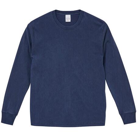 [5021] 5.6オンス ピグメントダイ ロングスリーブ Tシャツ【ユナイテッドアスレ】