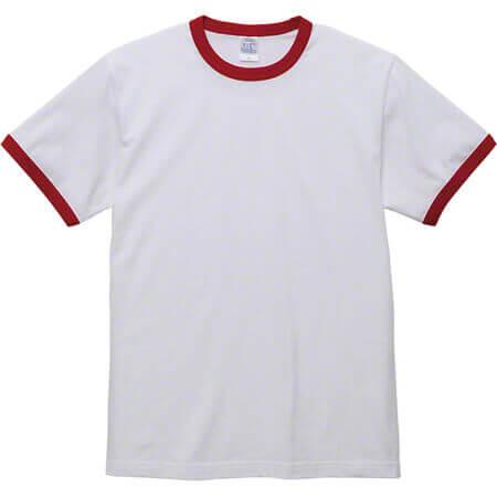 [5030] 5.6オンス リンガー Tシャツ【ユナイテッドアスレ】