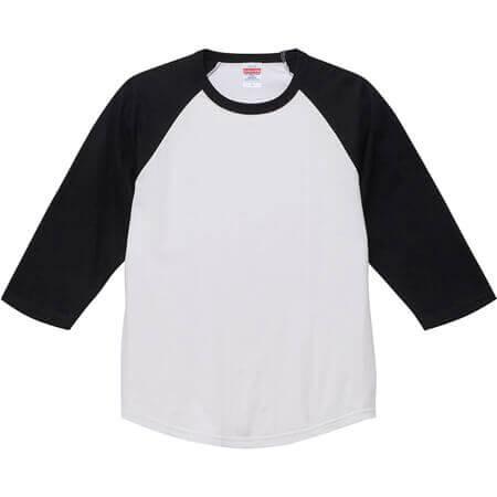 [5045] 5.6オンス ラグラン 3/4スリーブ Tシャツ【ユナイテッドアスレ】