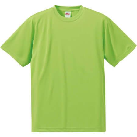 [5088] 4.7オンス ドライシルキータッチ Tシャツ(ノンブリード)【ユナイテッドアスレ】