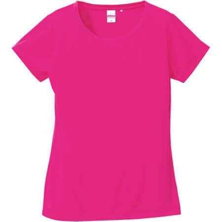 [5088-04] 4.7オンス ドライシルキータッチ Xライン Tシャツ(ノンブリード)【ユナイテッドアスレ】