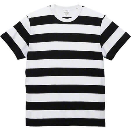 [5625] 5.6オンス ボーダー Tシャツ【ユナイテッドアスレ】
