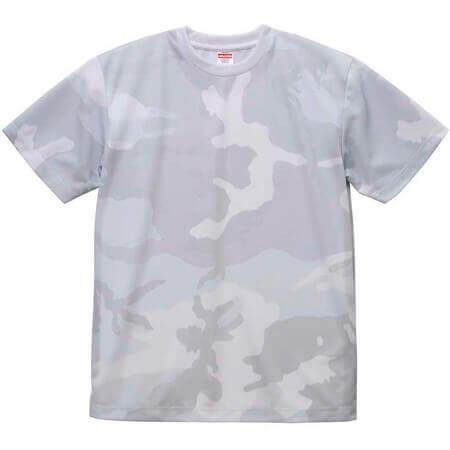 [5906] 4.1オンス ドライアスレチック カモフラージュ Tシャツ【ユナイテッドアスレ】
