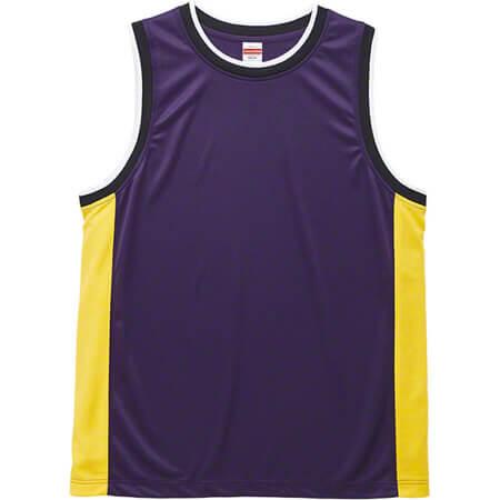 [5925] 4.1オンス ドライ バスケットボールシャツ【ユナイテッドアスレ】