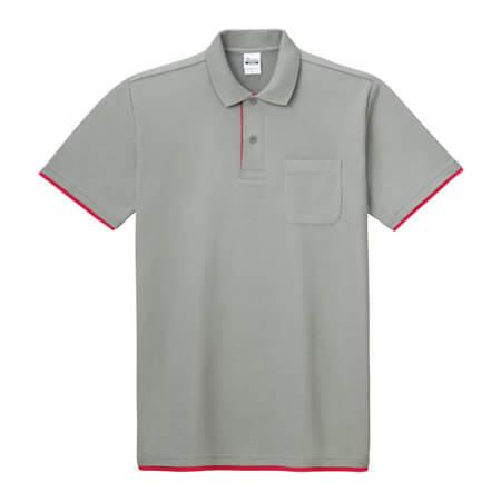 [00195] 5.8オンス ベーシックレイヤードポロシャツ(プリントスター)
