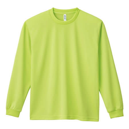[00304] 4.4オンス ドライロングスリーブTシャツ(グリマー)